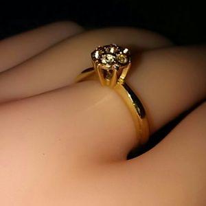 Vintage ring 18k HGE